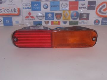 FREELANDER MK1 MODELS 1997 TO 2006 DRIVER SIDE REAR LOWER BUMPER LAMP LIGHT